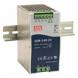 SDR-240 Series – 240W High Efficiency Slim DIN Rail Series