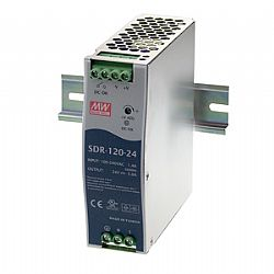 120W High Efficiency Slim DIN Rail Power Supply with PFC Function