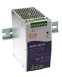 WDR-240 Series – 240W Slim Design Din Rail Power Supply