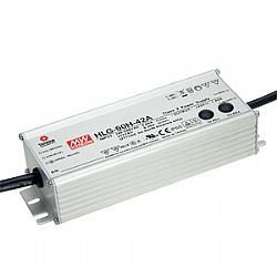 New HLG-60H-C Series, 70W High Output Voltage LED Power Supply
