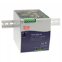 New TDR-960 Series 960W Ultra Slim Three Phase Input DIN Rail Power Supply