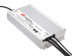 HLG-600H Series – 600W High Performance LED Power Supplies with PFC