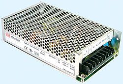 155W Dual Output AC-DC Power Supply With Battery C