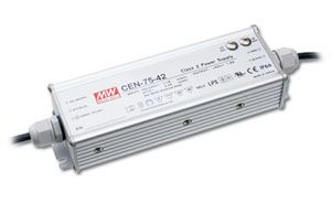 75W Single Output IP66 Rated PFC LED Power Supply