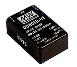 5W 36V ~ 72V Input Regulated Dual Output DC DC Converters
