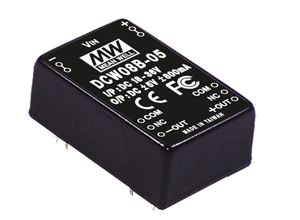 8W DC-DC Regulated Dual Output Converter