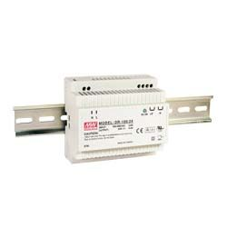 100W Single Output Class II DIN Rail Power Supply