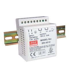 45W Single Output DIN Rail Power Supply