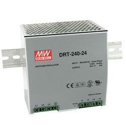 240W Three Phase Industrial DIN Rail Power Supply