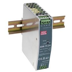 75W Single Output Industrial Din Rail Power Supply