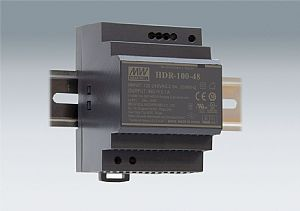 85~92W Ultra Slim Step Shape DIN Rail Power Supplies