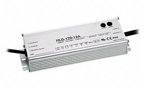 120W Single Output IP67 Rated LED Power Supply with Dimming Function