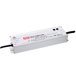 185W IP67 Rated Single Output LED Power Supply