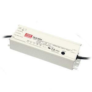80W Single Output Switch Mode Power Supply IP65 rated