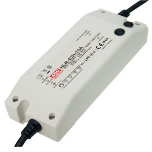 40W Single Output Dimmable LED Lighting Power Supply