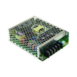 75W Single Output AC-DC Enclosed Switching Power Supply with PFC