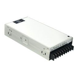 250W Single Output AC-DC Enclosed Switching Power Supply with PFC Function