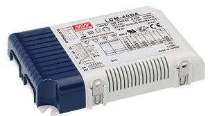 40W Multiple Stage Output Current LED Power Supply with built in DALI interface