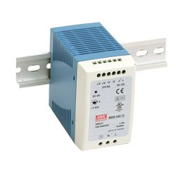 100W Miniature Single Output DIN Rail Power Supply
