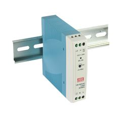 20W Miniature Single Output Din Rail PSU