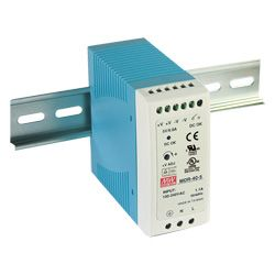 40W Miniature Single Output Industrial Din Rail PSU