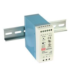 60W Miniature Single Output Din Rail PSU