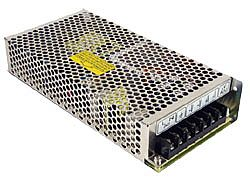 125W Quad Output AC-DC Enclosed Power Supply