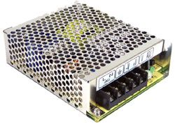 75W Single Output AC-DC Enclosed Power Supply