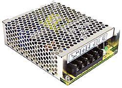 65W Quad Output AC-DC Enclosed Power Supply