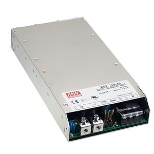 750W Single Output 1U low profile Enclosed Switching Power Supply
