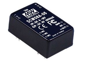 8W DC-DC Regulated Single Output Converter