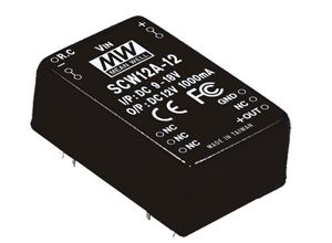 12W DC-DC Regulated Single Output Converter