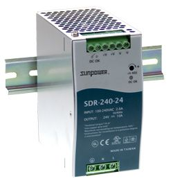 240W Single Output Industrial Din Rail PSU