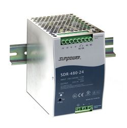 480W Single Output Industrial Din Rail PSU
