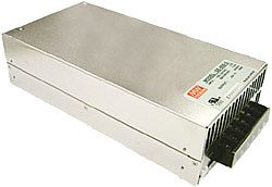 600W Single Output AC-DC Enclosed Power Supply