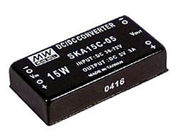 09.9~15W 36~72Vdc Input Single DC Output Converter
