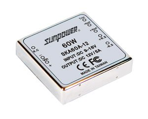 60W  Single Output Regulated DC-DC Converter