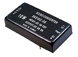 10W 36 ~ 72VDC Input Regulated Dual Output DC DC Converters