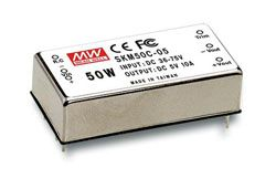 50W DC-DC Regulated Single Output Converter