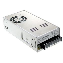 240W AC-DC Enclosed Switching Power Supply with Active PFC