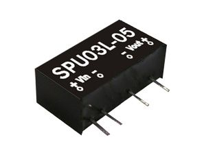 3W Single Output Unregulated DC-DC Converter