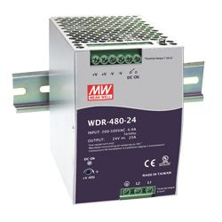 480W Single Output Industrial Din Rail Power Supply