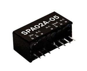 2W DC-DC Regulated Single Output Converter