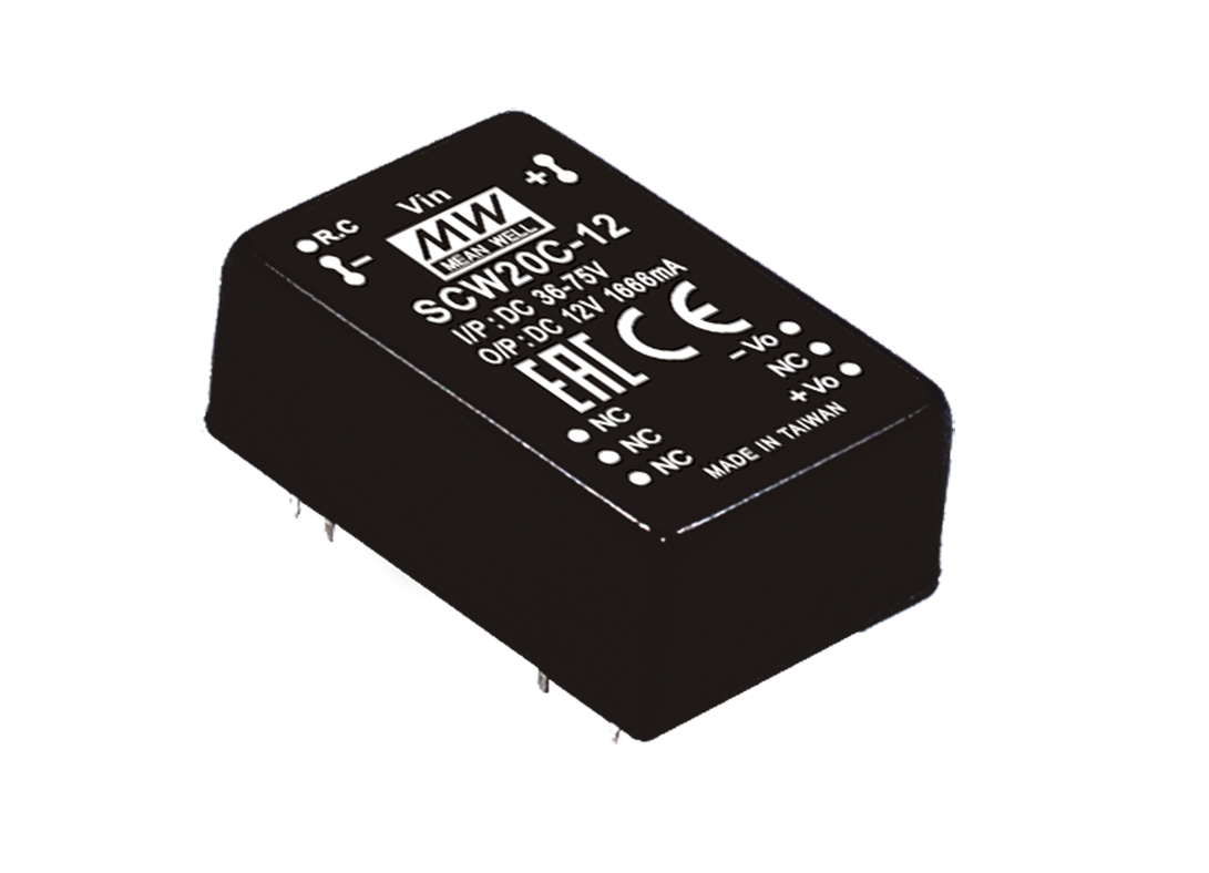 Dc Converters Meanwell Direct Uk 6 To 15 Volt Converter