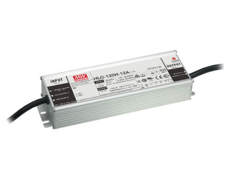 HLG-120H Series 120W Constant Voltage + Constant Current LED Driver