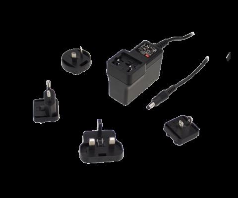 GEM40I15-P1J 40W 15V AC-DC High Reliability Interchangeable Medical Power Adaptor