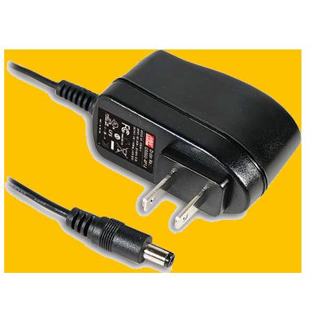 6W AC-DC  Industrial Adaptor – US 2 Pin AC Plug