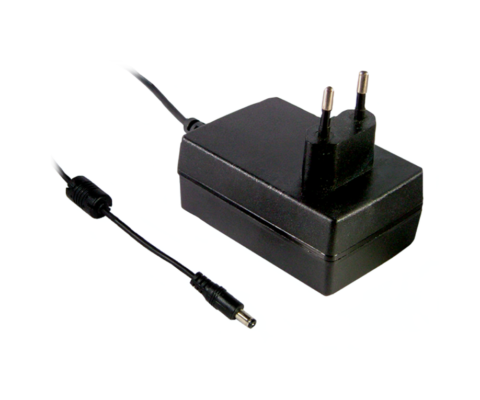 18W AC-DC High Reliability Industrial EURO Adaptor Series