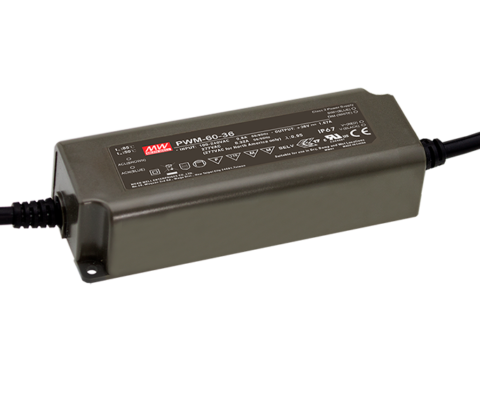 PWM-60-24KN 60W 24V PWM Output KNX LED Driver