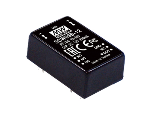 3W 12V DC-DC Regulated Single Output Converter